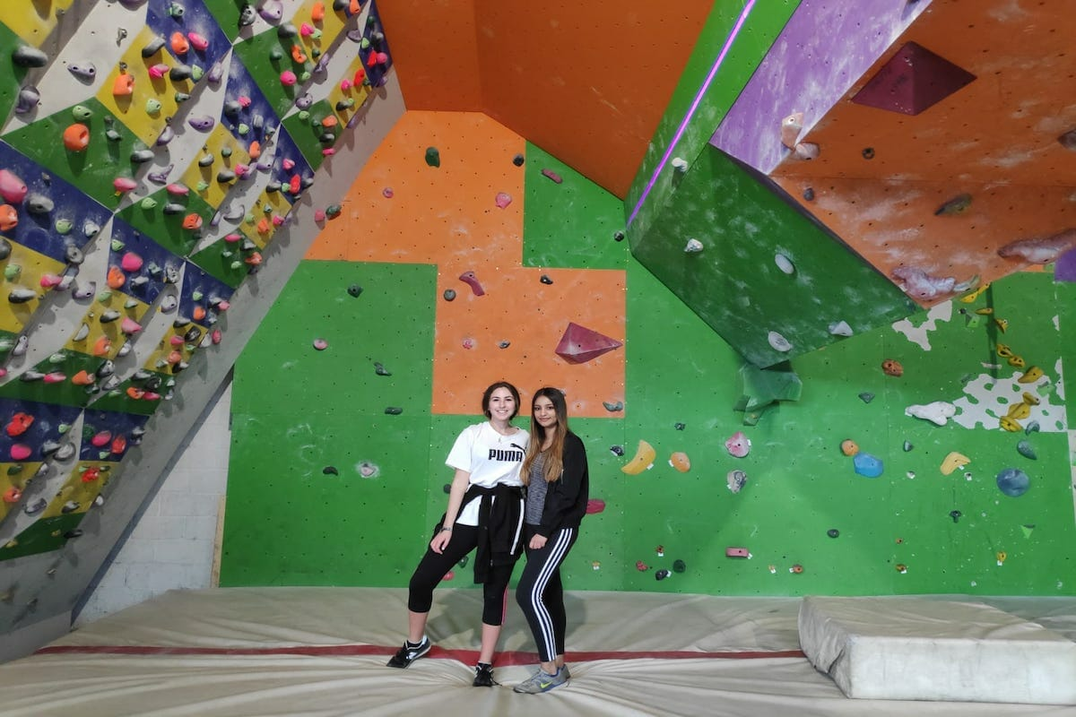 Sport Work Experience Abroad Placement Climbing Wall