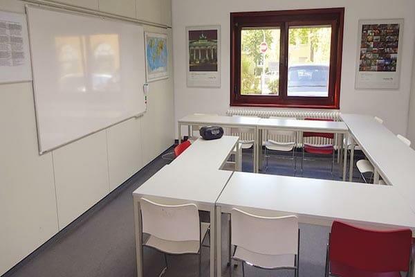 Frankfurt Language School Classroom