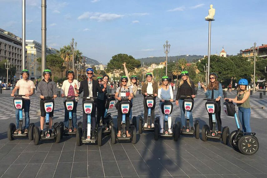 Nice Segway Tour French Language School France