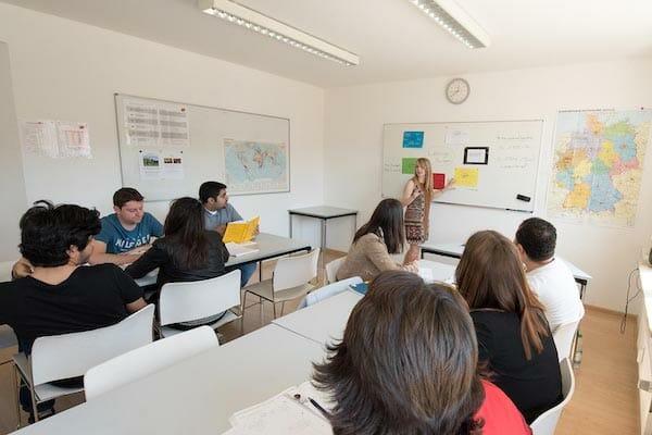 Munich Language School Classroom