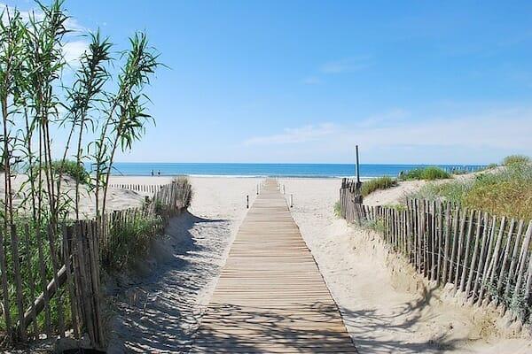 Montpellier beach