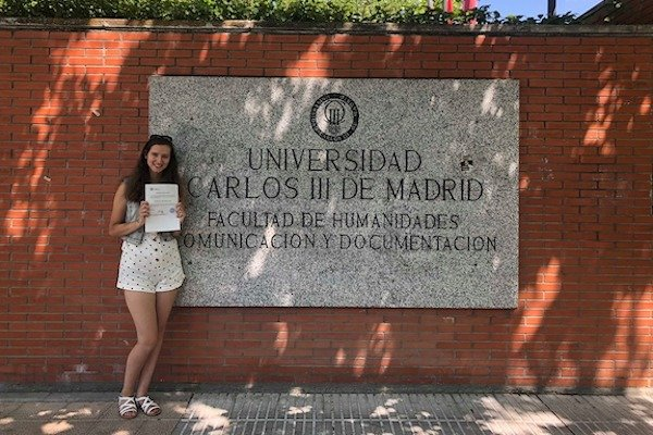 Faith Pring Studying Abroad